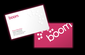 Boom Digital Business Cards
